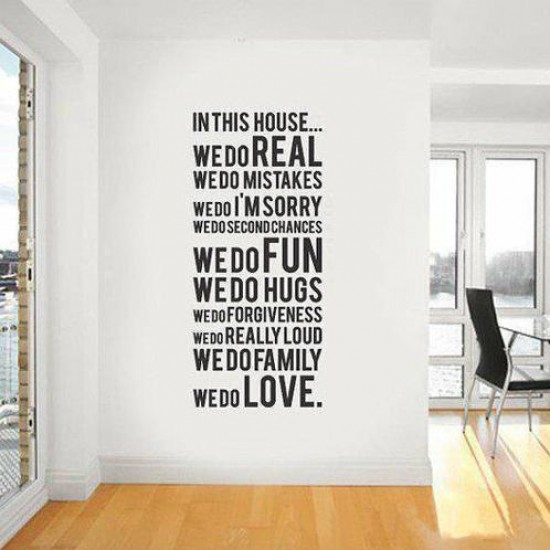 Vinyl wall stickers – A simple way to add chic look and creativity to the wall