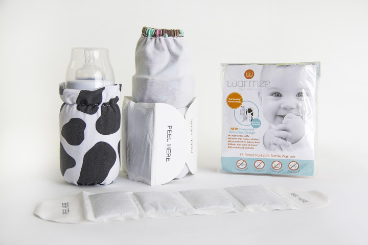 Warm Babies Bottles On The Go With Warmze Travel Bottle Warmer #reviews
