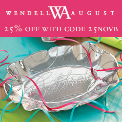 Save 25% on American-made Christmas Decor and Personalized Holiday gifts @wendellaugust #wendellaugust #madeinamerica #wendellchristmas