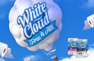 White Cloud Improves It's Already Thick & Strong Bath Tissue: Get 33% More Rolls