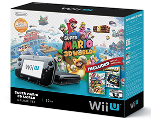 Enter to win a Wii U Deluxe Gaming System