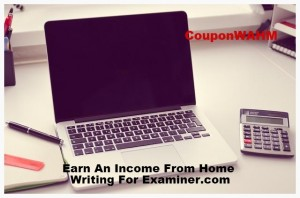 Earn An Income From Home Writing For Examiner.com