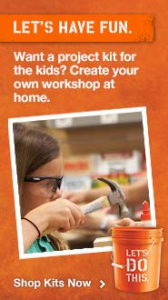 #free Workshops For Kids at Home Depot #DIHWorkshop