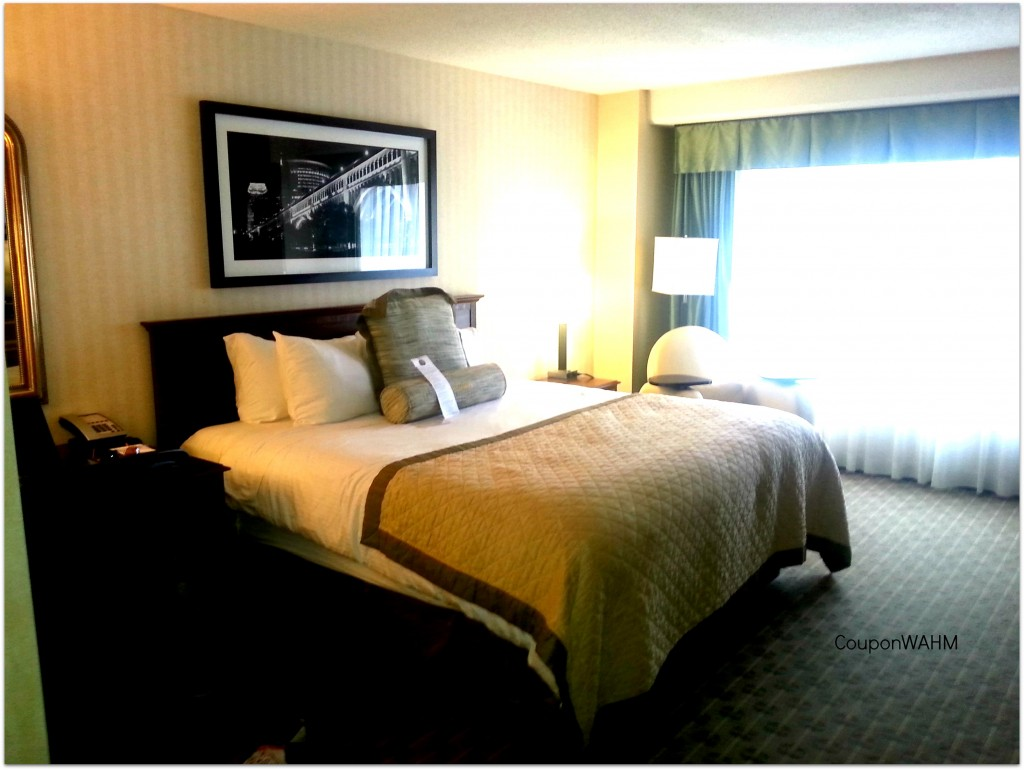 wyndam hotel room cleveland review