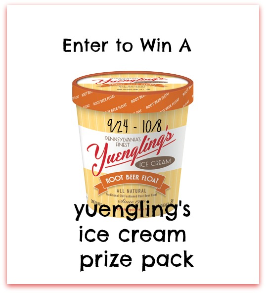 Enter to #win A Yuengling's Ice Cream Prize Pack (ends 10/8) #giveaways