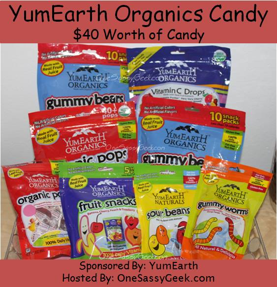 Enter to #win $40 of YumEarth #Organic Candy (ends 4/14)