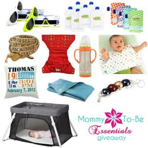 Enter to #win in the Mommy-to-Be Essentials Giveaway (ends 1/19)