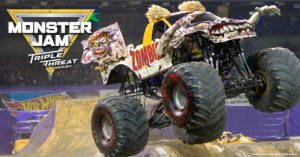 MONSTER JAM TRIPLE THREAT SERIES! FEBRUARY 18-19 AT QUICKEN LOANS ARENA