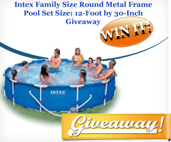 Enter to win the 12′ x 30″ Family Size Metal Frame Pool ...